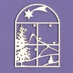 Chipboard - Christmas Stained Glass