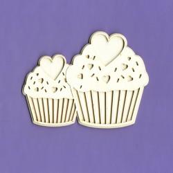 Chipboard - Love Muffins