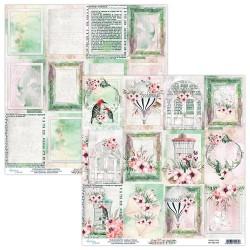 Scrapbooking Paper- 12x12 Sheet - SECRET PLACE 06