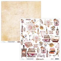 Scrapbooking Paper- 12x12 Sheet - DEAR DIARY 09