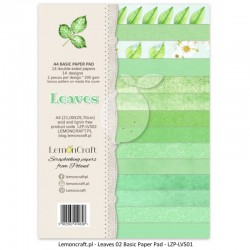 Scrapbooking Papers - Leaves 02