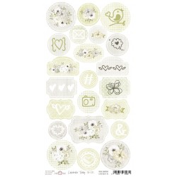 Paper Sheet DIE CUT Elements-Celebrate Today