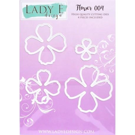 Lady E Design  Dies Flower 004