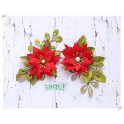 Lady E Design  Dies Flower/ Poinsettia