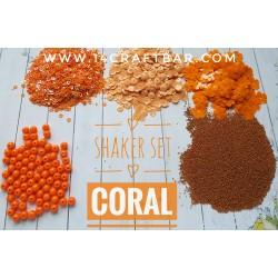 Shaker Set / CORAL