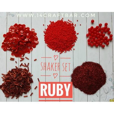 Shaker Set / RUBY