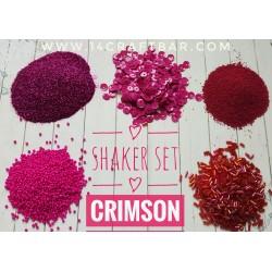 Shaker Set / CRIMSON