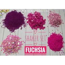 Shaker Set / FUCHSIA