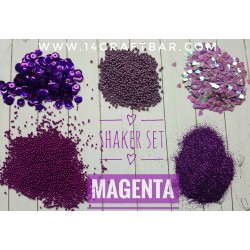 Shaker Set / MAGENTA