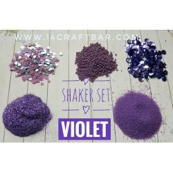 Shaker Set / VIOLET