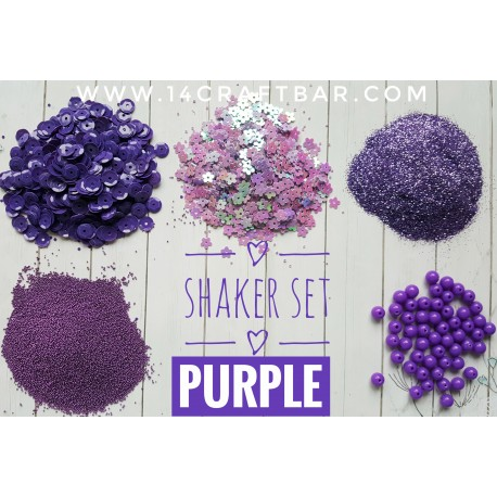 Shaker Set / PURPLE