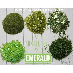 Shaker Set / EMERALD