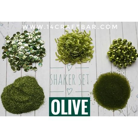 Shaker Set / OLIVE