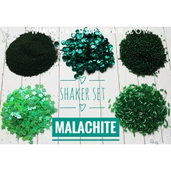 Shaker Set / MALACHITE