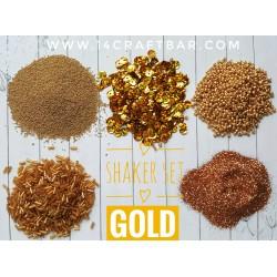 Shaker Set / GOLD