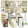 Ephemera cards- Vintage World/24 pcs