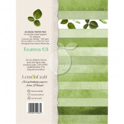 Scrapbooking Papers - Leaves 03