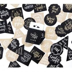 Mini Stickers-Die Cuts/Good Night/ 45pcs