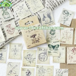 Mini Stickers-Die Cuts/Forest/ 45pcs