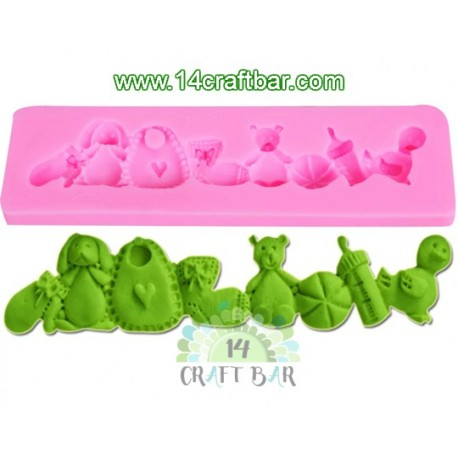 Silicone Mold -Baby Attributes