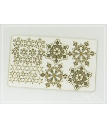Chipboard - Snowflakes set