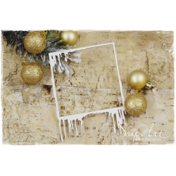 Chipboard - Frosty Frame/square