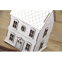 Chipboard - Tiny Family house - 3D