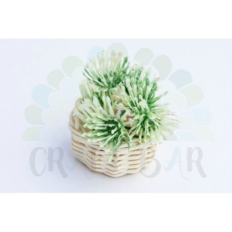 "Mini Stamen ""bush"" - WHITE CLOVER"