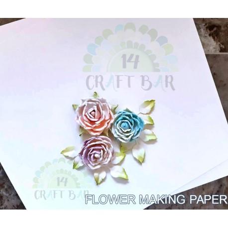 Paper for flower making / WHITE