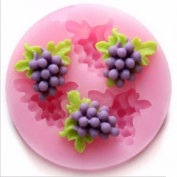 Silicone Mold - Mini bunches of grapes
