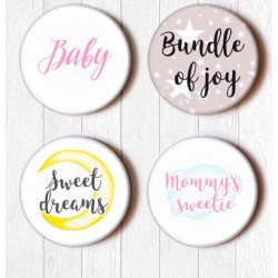 Adhesive Badges /Words for baby