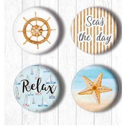 Adhesive Badges /Sea Breze