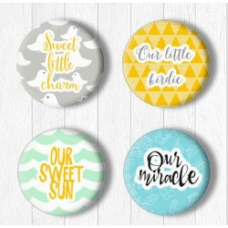Adhesive Badges /Little...