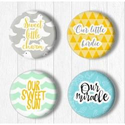 Adhesive Badges /Little...