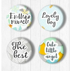 Adhesive Badges /The best..