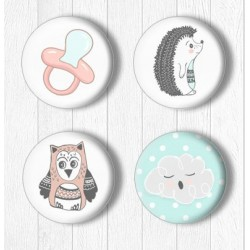 Adhesive Badges /Pet