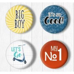 Adhesive Badges /Big Boy