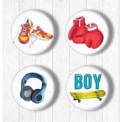 Adhesive Badges /Teenager