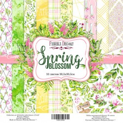 Scrapbooking Paper - SPRING BLOSSOM (12x12)