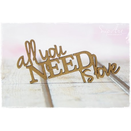 MDF - All you need is love