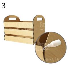 MDF - Desk organizer,small box/3D