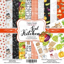 Scrapbooking Paper - SOUL KITCHEN (12x12)
