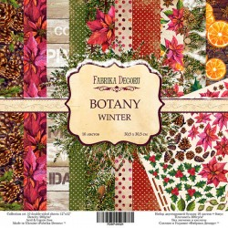 Scrapbooking Paper - BOTANY WINTER  (12x12)