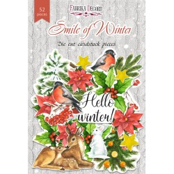 DIE CUT Elements - Smile of Winter /52pcs