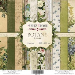 Scrapbooking Paper - BOTANY SUMMER (12x12)