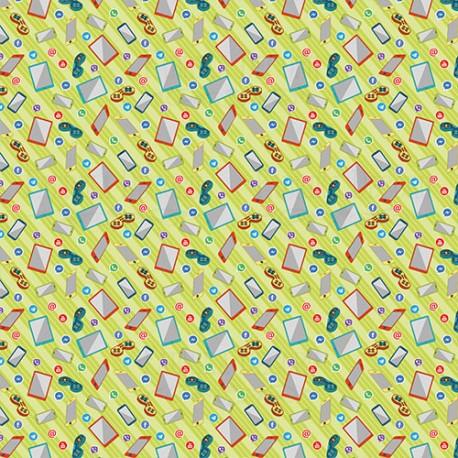 Scrapbooking Paper - COOL TEENS  (12x12)