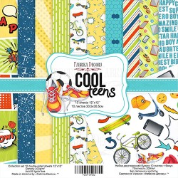Scrapbooking Paper - COOL TEENS  (12x12)