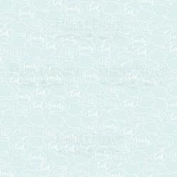 Scrapbooking Paper - PUFFY FLUFFY GIRL (12x12)