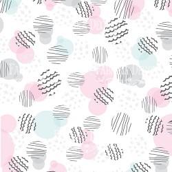 Scrapbooking Paper - SCANDI BABY GIRL (12x12)