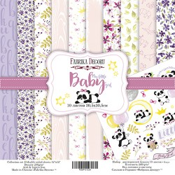 Scrapbooking Paper - MY LITTLE BABY GIRL (12x12)